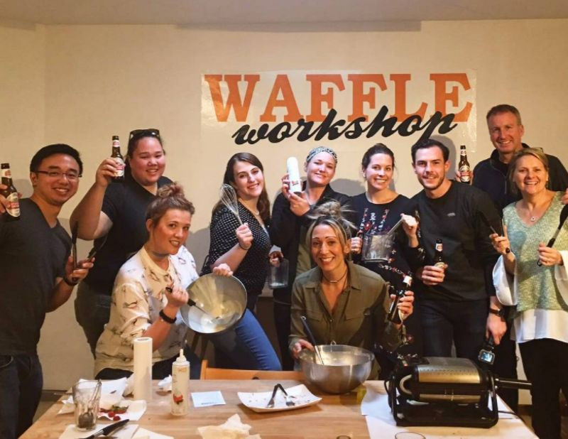 Brussels Waffle Workshop / All you can eat