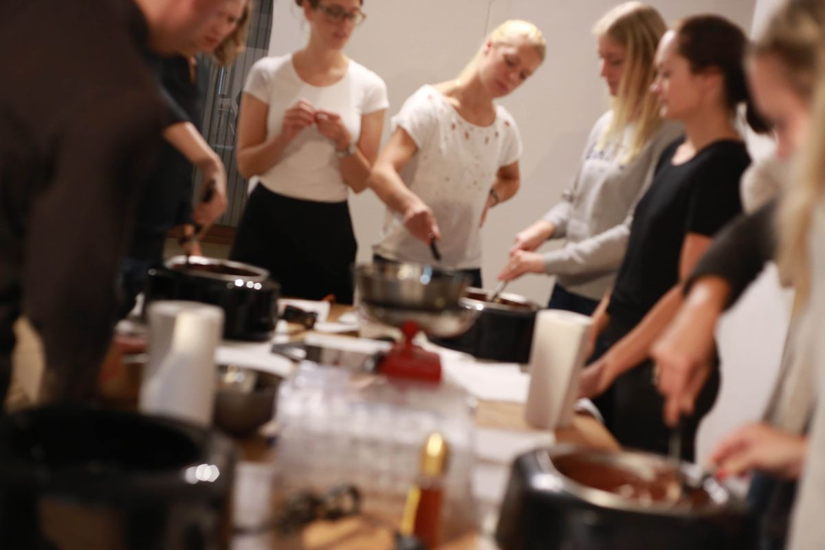 Belgian Chocolate-Making Workshop in Brussels