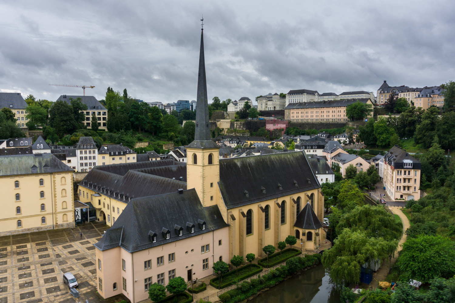 Free Tour of Luxemburgo (Only Spanish)