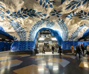 Tour por el Metro de Estocolmo