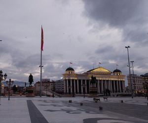 Free Tour por caminata en Skopie.